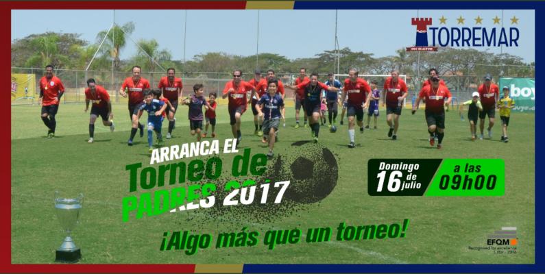 El domingo los papás Torremar inician su torneo