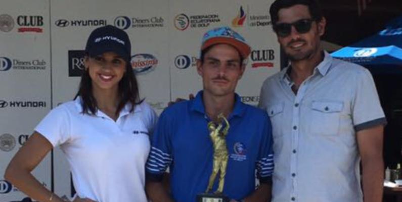 Rafael Miranda Ponce gana por 4to año el Abierto Nacional del GCC