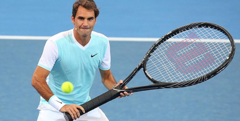 Wilson lanzó una edición especial de raquetas en honor a Federer