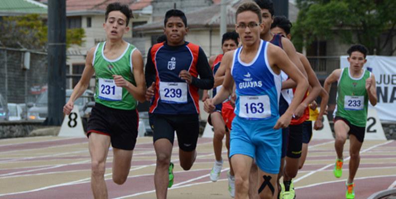 En Cuenca se realizan las pruebas de atletismo de los Juegos Nacionales