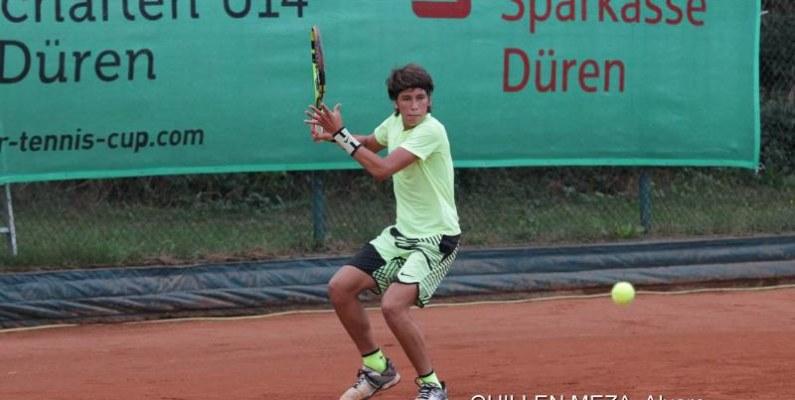 Doble título para tenista ecuatoriano Álvaro Guillén