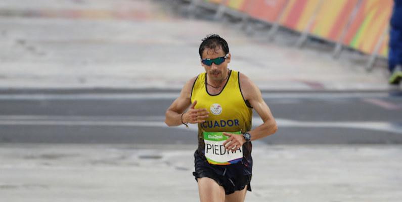 Byron Piedra compitió en los 10.000 metros del Mundial de Atletismo