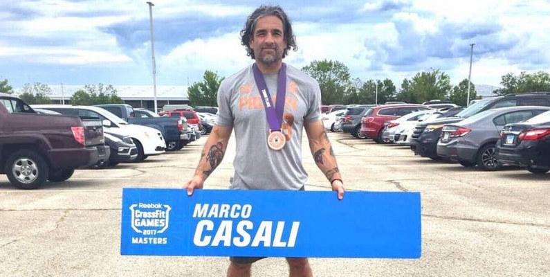 Chileno Marco Casali consiguió el bronce en los Crossfit Games