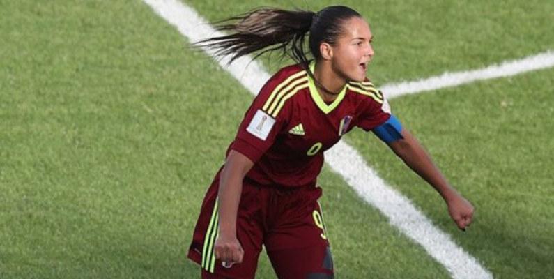 La venezolana Deyna Castellanos está nominada al premio FIFA The Best
