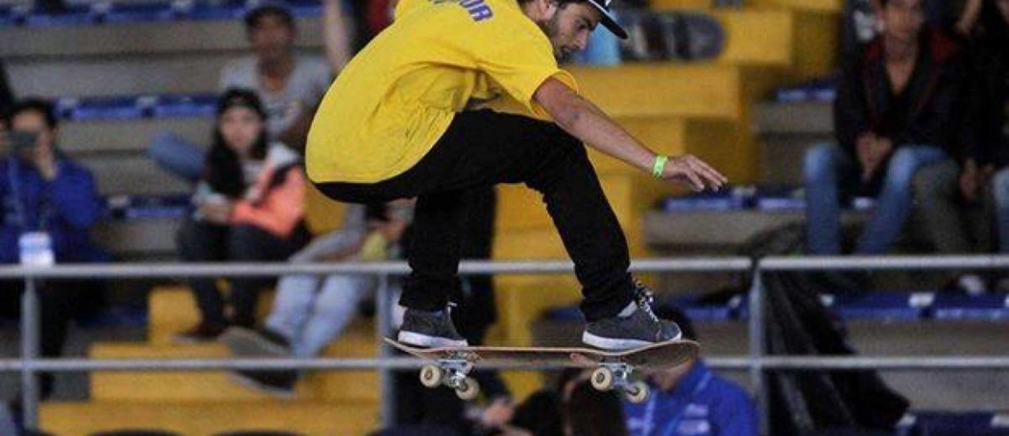 Eduardo Mata conquistó la medalla de oro en el Panamericano de skateboarding