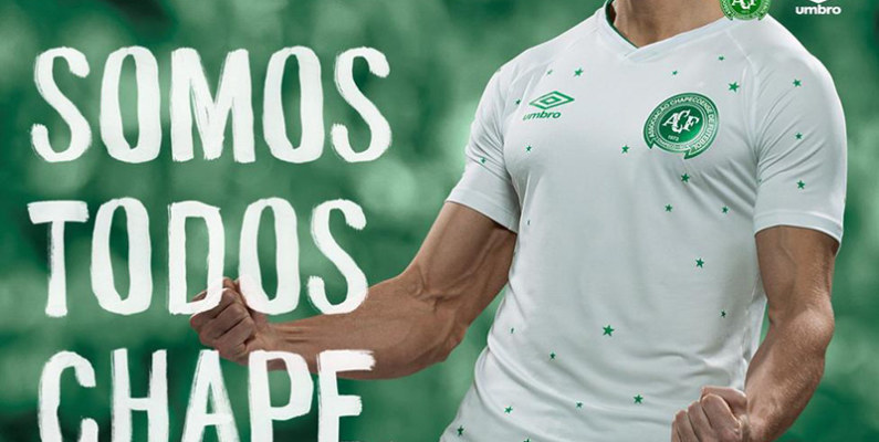 Chapecoense lanza hermosa camiseta conmemorativa