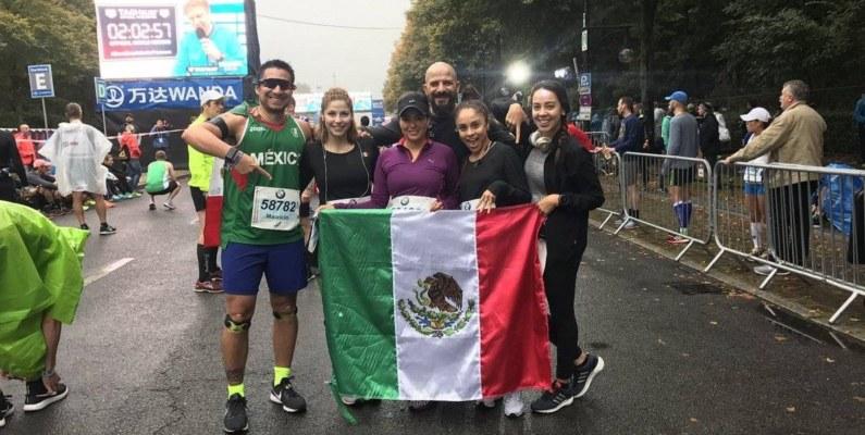El maratón de Berlín se pintó de mexicanos