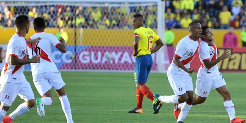 Ecuador cayó derrotado de local frente a Perú por Eliminatorias