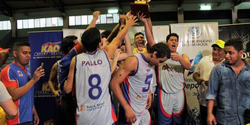 """The Magic's Daule campeón de la """"Copa Ciudad de Guayaquil"""""""