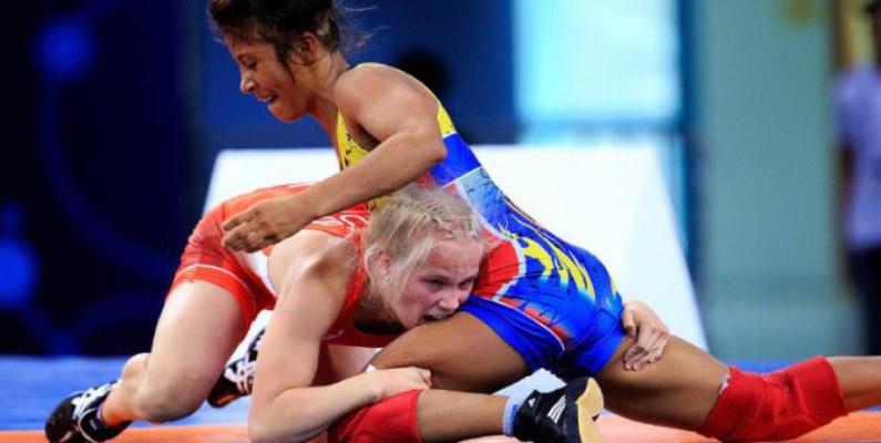 La ecuatoriana Lucía Yépez conquistó el bronce en el Campeonato Mundial de Lucha