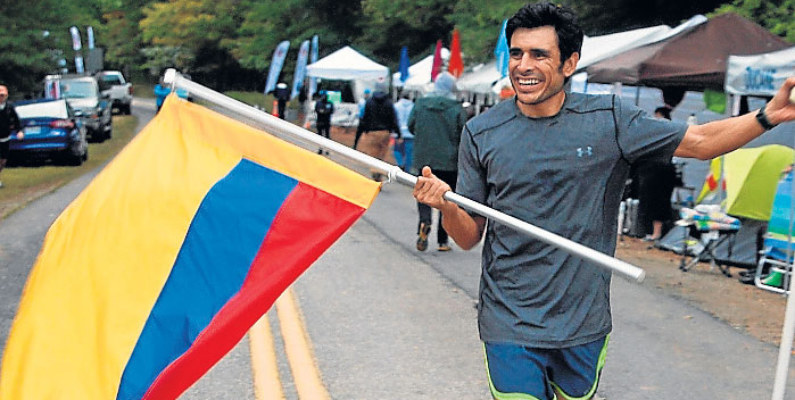 El ecuatoriano Andrés Villagrán ganó la ultramaratón en Estados Unidos
