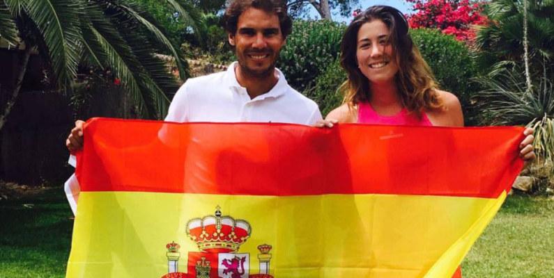 Nadal y Muguruza, los españoles que lideran el ranking a la vez