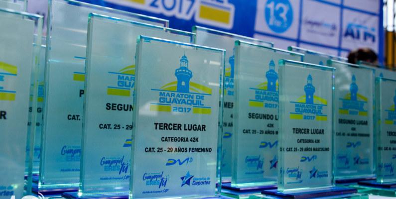 Los ganadores de la Maratón de Guayaquil 2017