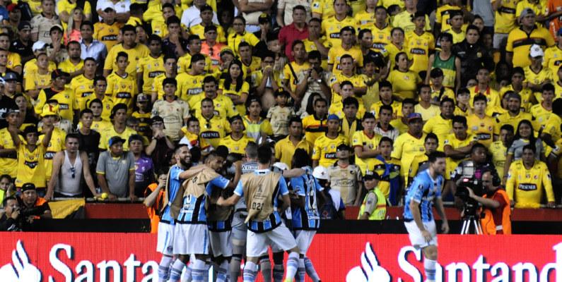 Copa Libertadores: BSC cayó ante Gremio en la semifinal de ida