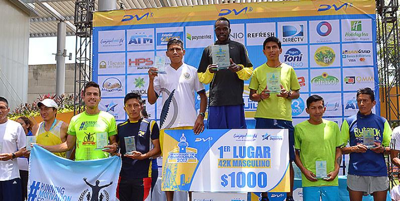 Los patrocinadores de la Maratón de Guayaquil también son protagonistas