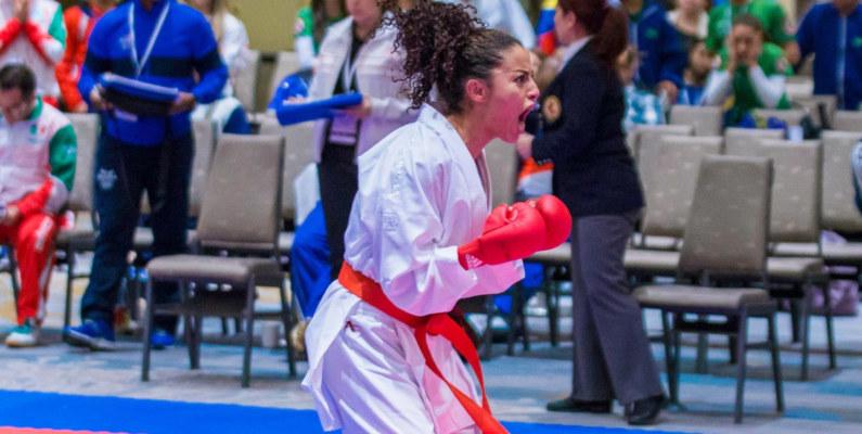 Jacqueline Factos: una karateca ecuatoriana de élite