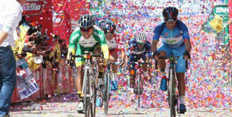 Team Ecuador, protagonista en Vuelta a Guatemala