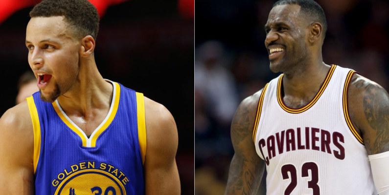 LeBron y Stephen Curry son los jugadores más comerciales de toda la NBA