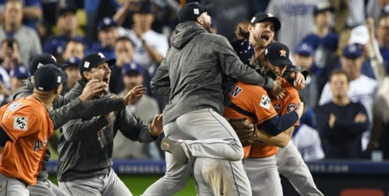 Los Astros de Houston se coronaron por primera vez campeones de la Serie Mundial de béisbol