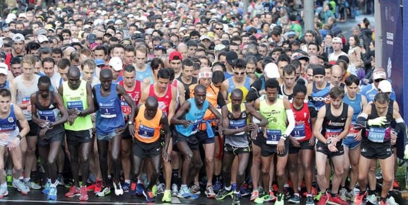 El noruego Sondre Moen bate el récord de Europa de maratón