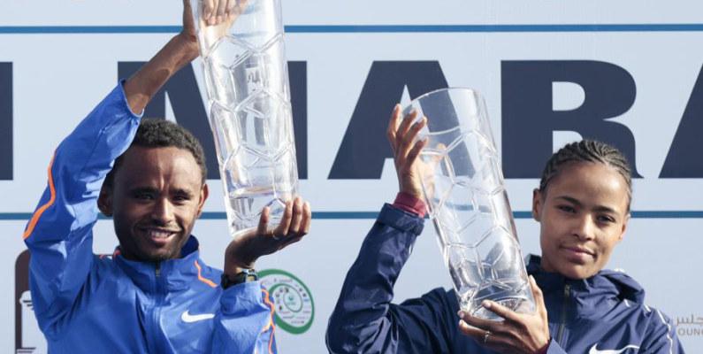 ¡Lo nunca visto! Siete etíopes bajan de 2h05 en el maratón de Dubái