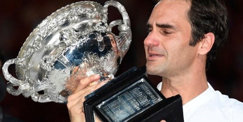 Roger Federer conquistó el Abierto de Australia y su leyenda continua