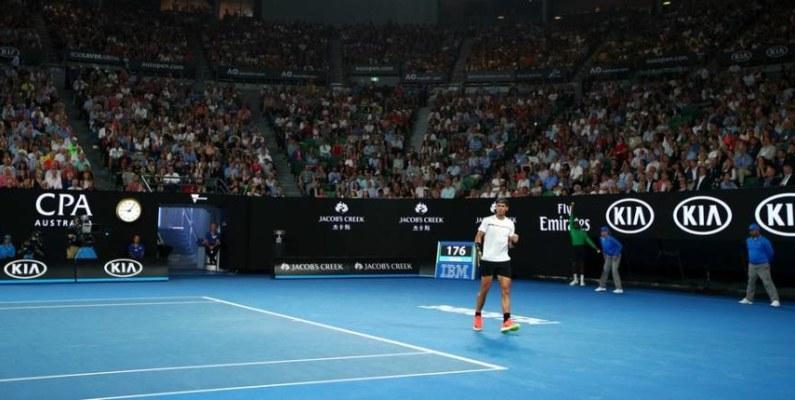 Australia estrenó nuevo cronómetro para tenis